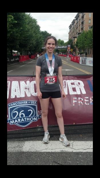 Kat Spencer Marathon